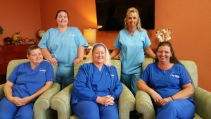 Signature HealthCARE of Putnam County Pinnacle CNA's pictured above.